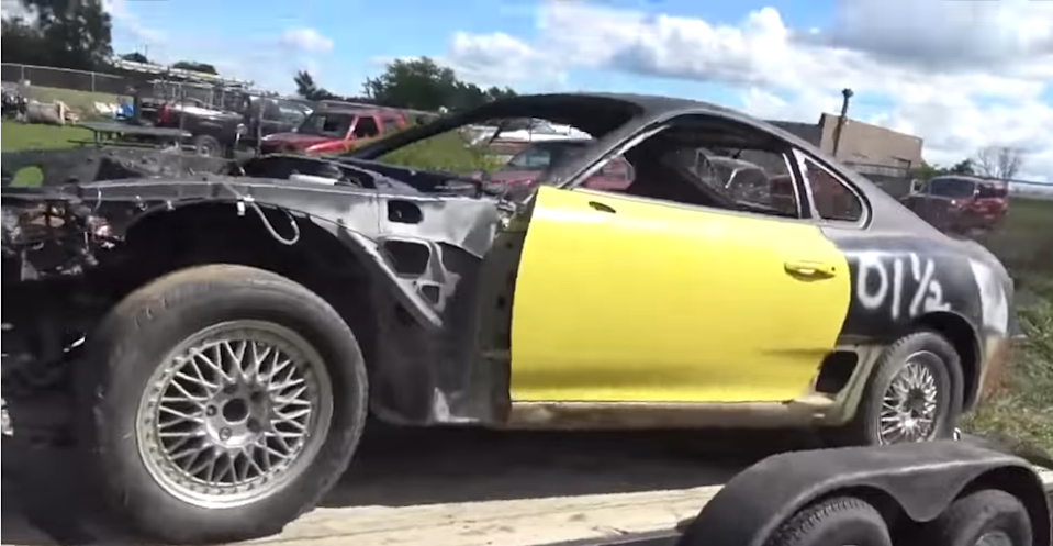 Watch A Toyota Supra Go From Field To Amazing
