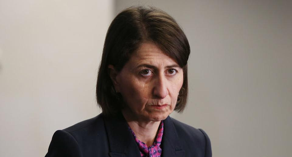 Gladys Berejiklian will be hoping the virus has not seeded in the community following the apparent leak. Source: Getty