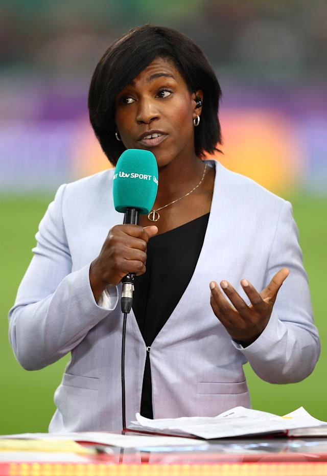 Former England international and RFU council member Maggie Alphonsi also said the song should not be banned. (Getty Images)