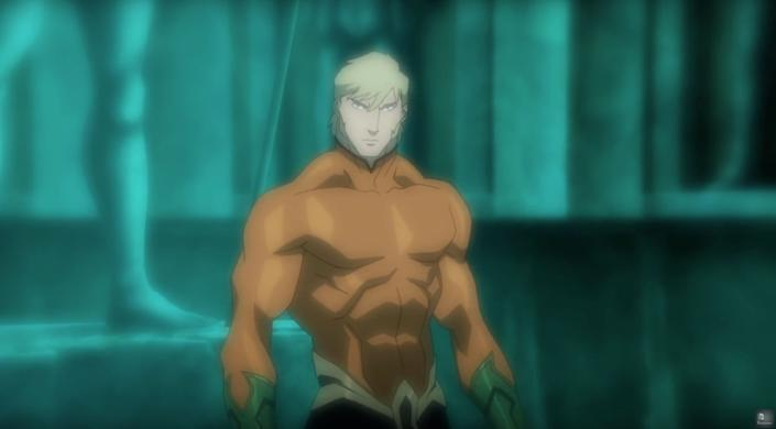"""""""Throne of Atlantis"""" begins where""""War"""" left off. Due to the events of the Justice League's battle with Darkseid, Atlantis has declared war on humanity. We meet Arthur Curry, son of a lighthouse keeper who discovers that his mother is the exiled queen ofAtlantis and that he is destined to one day rule (as Aquaman). Now, he's the only one who can help the Justice League stem the tide of war."""