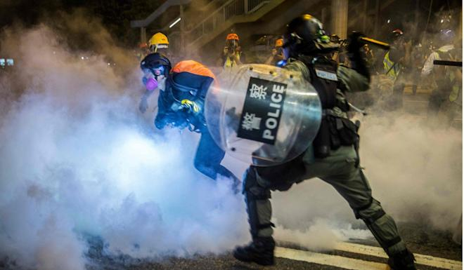 Pressure is mounting on Hong Kong's police force to put an end to the unrest. Photo: AFP