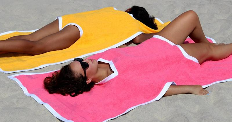 Towelkini Is the New Towel and Swimsuit in One