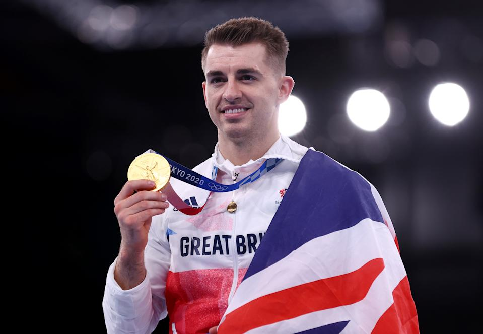Whitlock, 28, took one step deeper into the pantheon of Team GB greats in Tokyo on Sunday