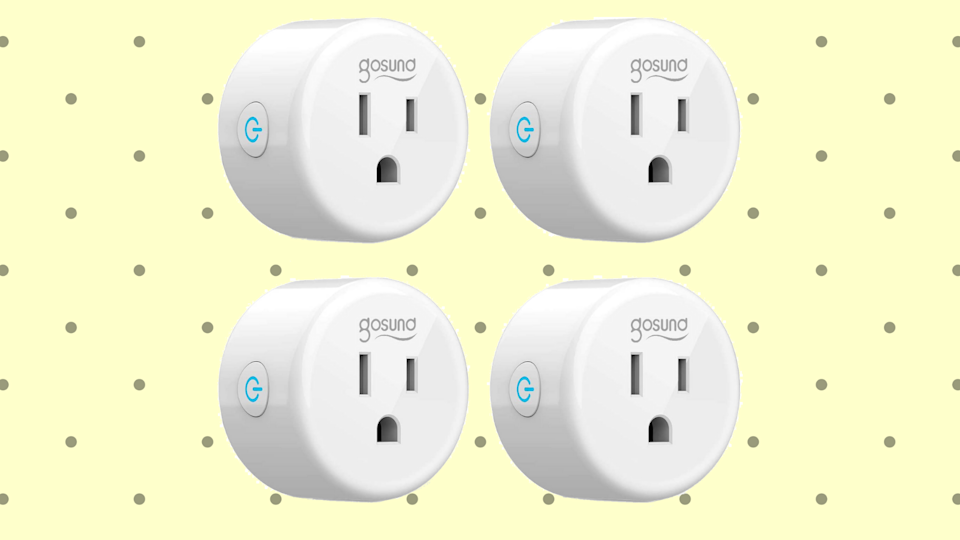 We'd like to put in a plug--four of them, in fact--for this amazing deal. (Photo: Amazon)