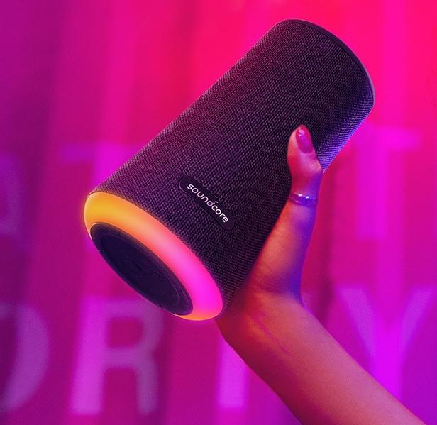 The Soundcore Flare+ 360-degree speaker is on sale for $70, today only. (Photo: Amazon)