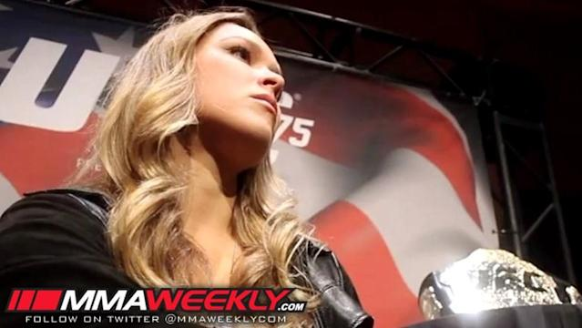 Ronda Rousey's UFC Return Planned for November or December