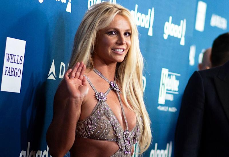 Britney Spears attends the 29th Annual GLAAD Media Awards on April 12, 2018, in Beverly Hills, California. (Photo: VALERIE MACON/AFP/Getty Images)
