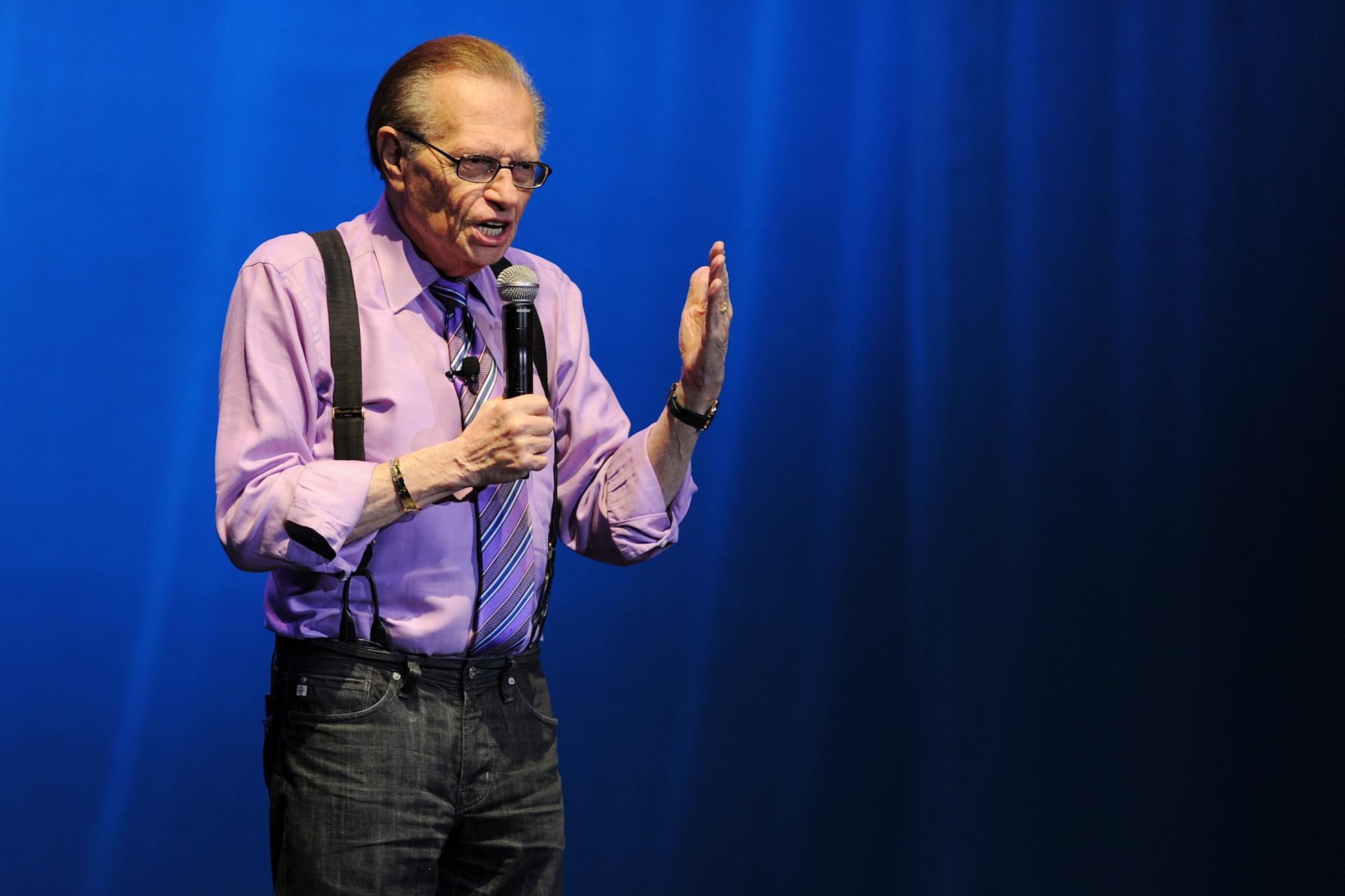 Larry King, broadcasting legend, remembered by Hollywood as an 'American treasure'