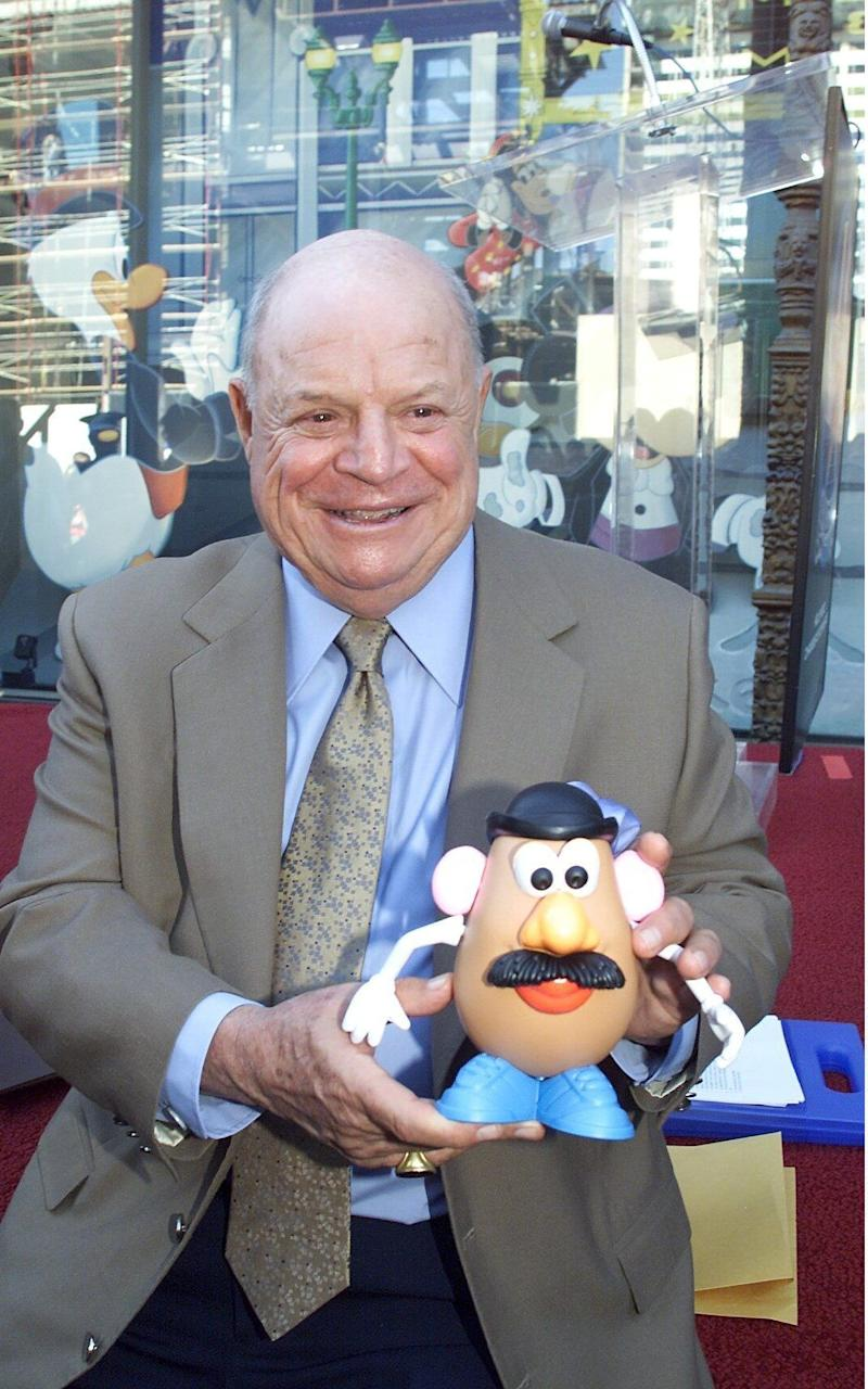 Don Rickles at the Hollywood Walk of Fame Star Ceremony in 2001 - Credit: Rex
