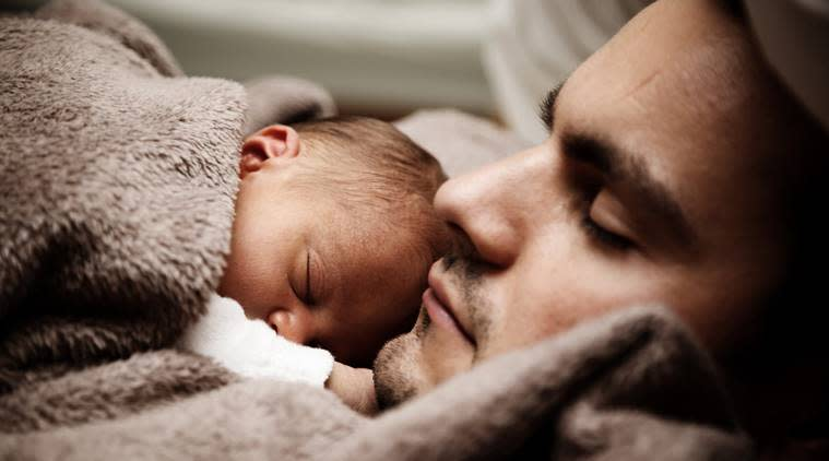 male postpartum depression