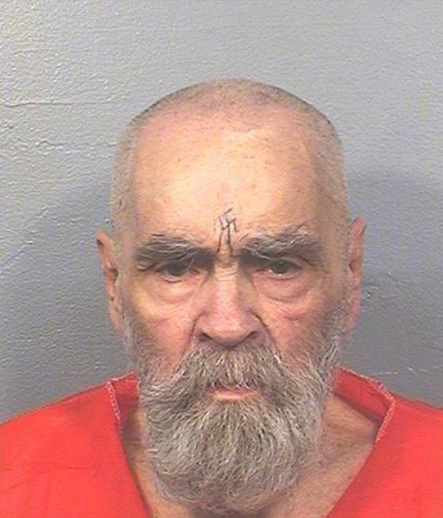 <p>This Aug. 14, 2017 photo provided by the California Department of Corrections and Rehabilitation shows Charles Manson. A spokeswoman for the California Department of Corrections and Rehabilitation says the 83-year-old mass killer is alive Thursday, Nov. 16, 2017. (Photo: California Department of Corrections and Rehabilitation via AP) </p>