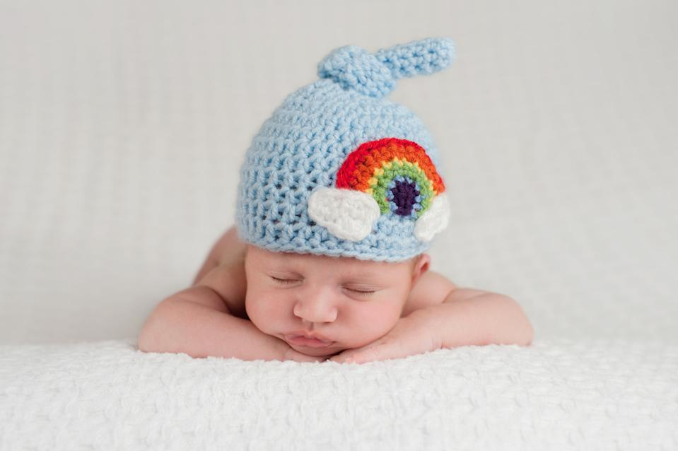 Welcome to the world baby Indigo! (Getty Images)