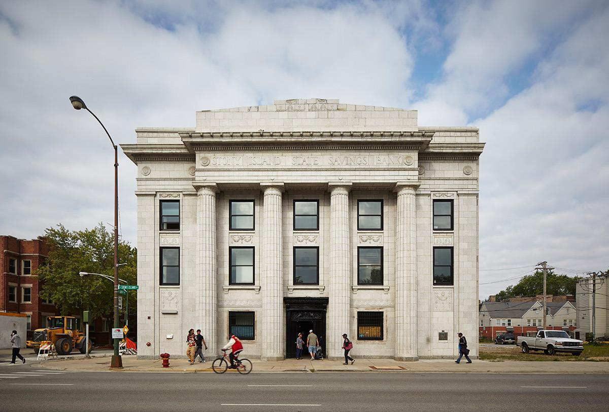 The Stony Island Arts Bank, renovated and reopened