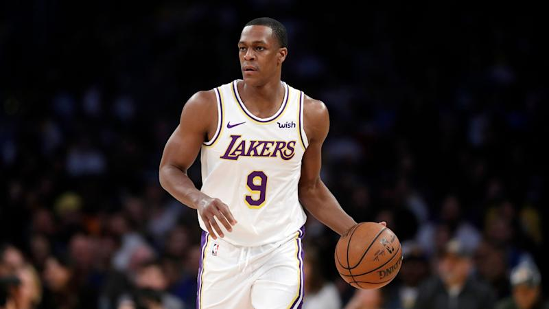 new product abbd1 3d6d2 Rajon Rondo says Lakers 'held it together as best possible'