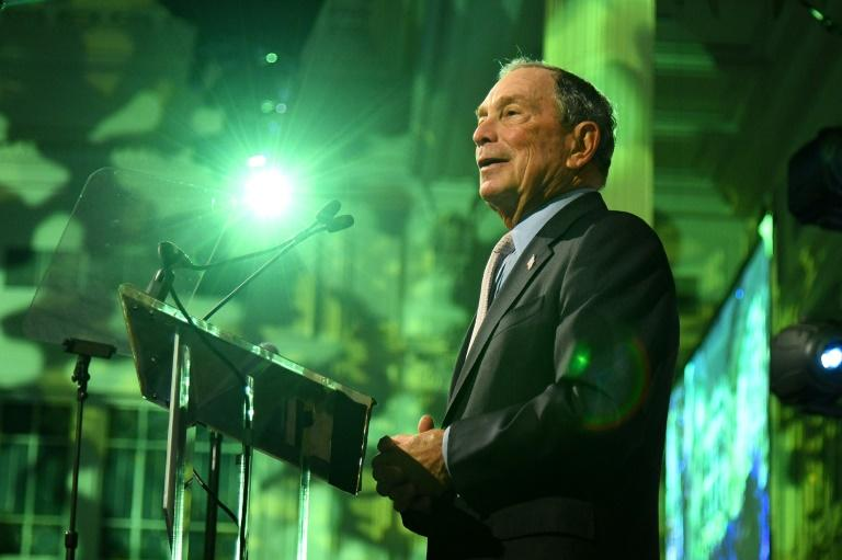 Former New York mayor Michael Bloomberg's possible entry into the presidential race could pose challenges for his company which includes one of the world's largest news organizations (AFP Photo/Bryan Bedder)
