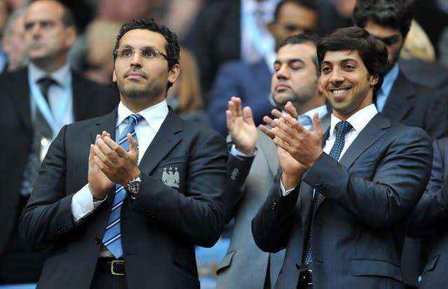 Michael Brown does not believe Manchester City's owners will walk away (Martin Rickett/PA)