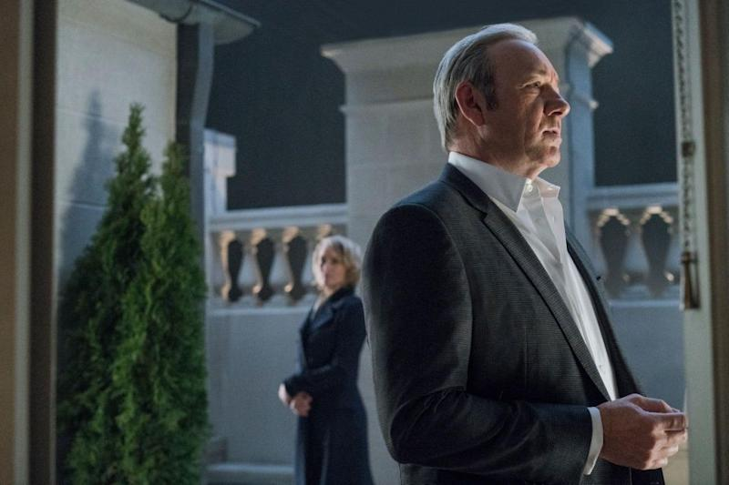 Kevin Spacey did not receive a nomination for his work on House Of Cards. Source: Netflix