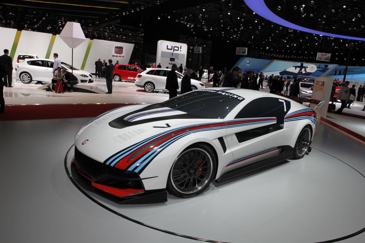 Volkswagen takes advantage of its majority share in Italdesign with the stunning Guigiaro Brivido concept. Although not a VW per say, its underpinnings are--and it's powered by a 3.0 liter, 360-horsepower V-6 that's good for a 0 - 60 time in 5.8 seconds. That may not sound like much, but the Brivido is an eco-conscious hybrid that spews out just 154 grams per kilometer of carbon dioxide. The four-seater prototype hopefully hints at what's to come from the German automaker, which has been pushing more conservative designs lately with the refreshed CC and the grocery-hauling Passat.