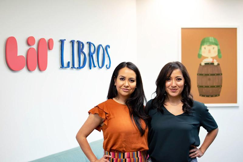 Lil' Libros co-founders Patty Rodriguez and Ariana Stein are telling the stories of great Latinx figures for children of all backgrounds to learn from. (Photo: Courtesy of Lil' Libros)