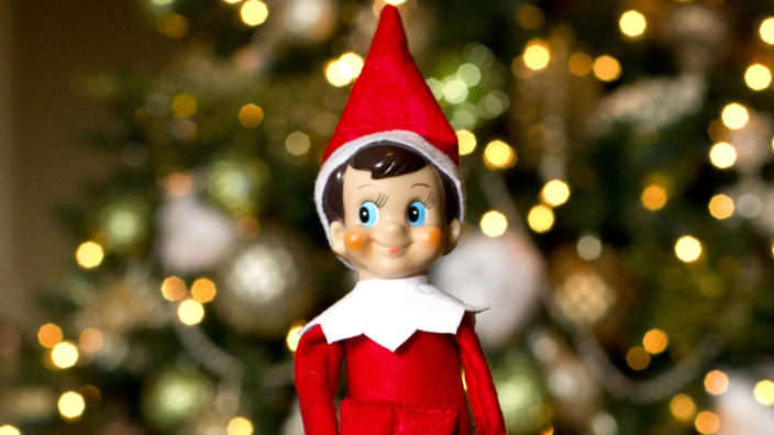 The elf on the shelf sees all (AP)