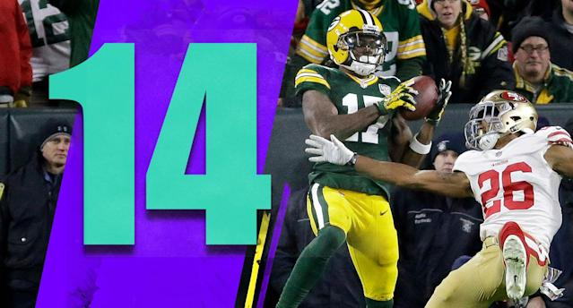 <p>Fun, exciting win. But as the Packers head to their bye, they can't feel great. They have to play better than they have. (Davante Adams) </p>
