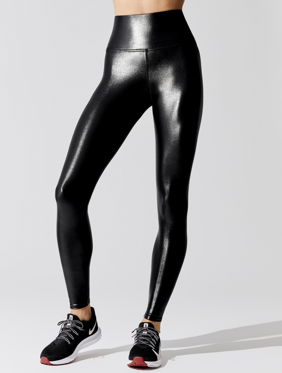 Carbon38 High Rise Full-Length Legging in Takara Shine