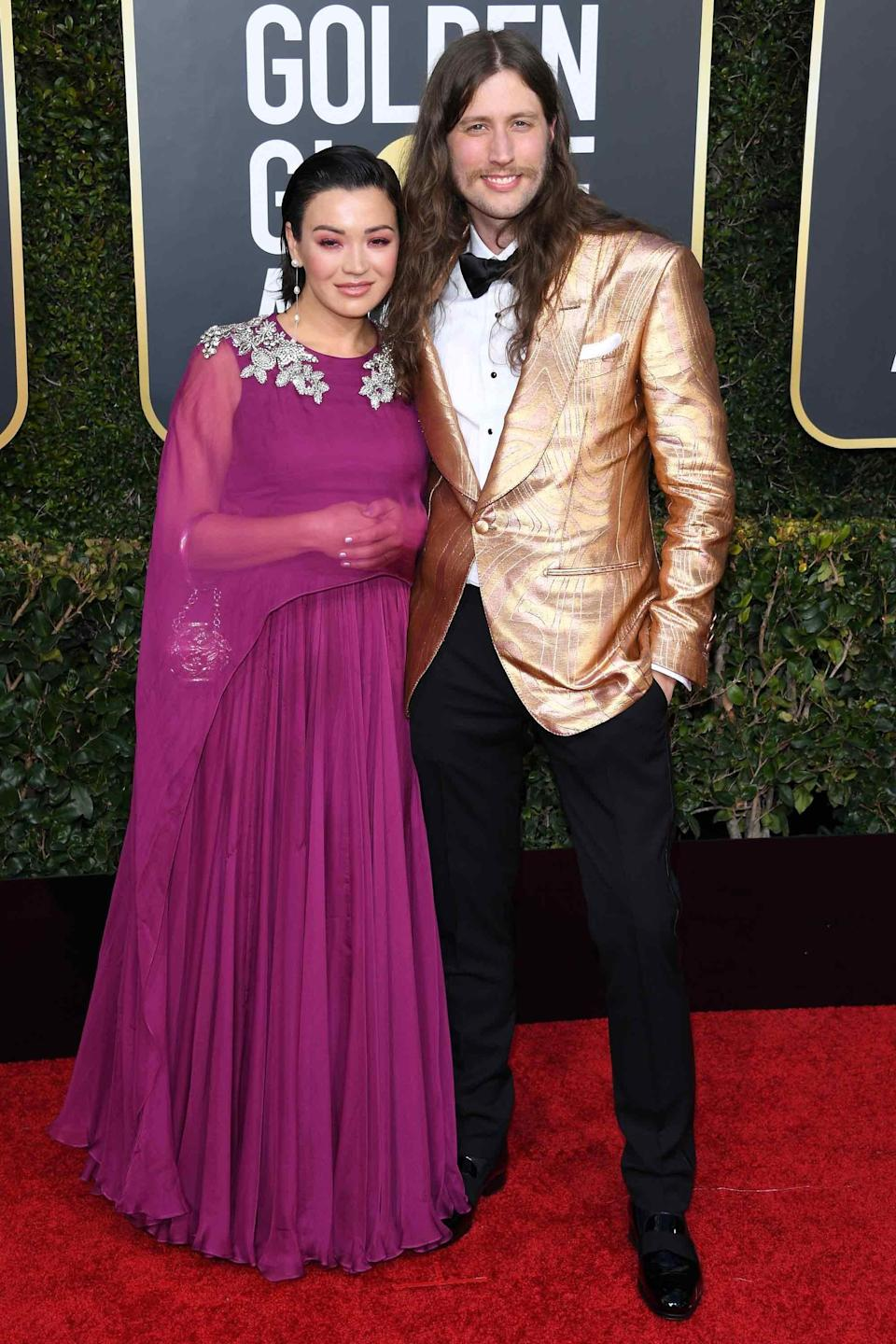 The <em>Black Panther</em> composer's golden jacket would have won the night at the 1977 Golden Globes, too. That's how you know you're doing it right.
