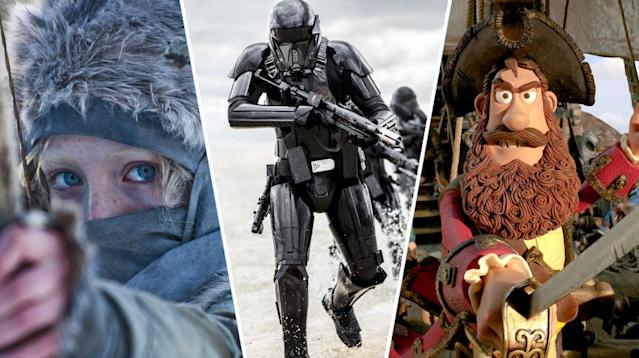 <em>Hanna, Rogue One: A Star Wars Story, The Pirates! In An Adventure With Scientists!</em>