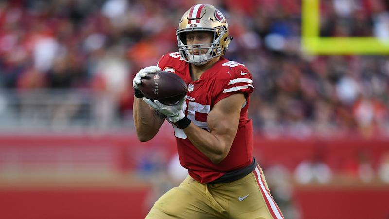 George Kittle agrees record $75m Niners extension