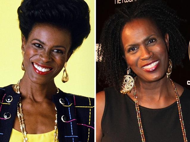 "<strong>Janet Hubert-Whitten</strong><br><br><strong>Played:</strong> No-nonsense aunt Vivian Banks (Seasons 1–3)<br><br><strong>Now:</strong> After Hubert was let go from ""Prince,"" she popped up here and there in guest appearances on ""The Gilmore Girls,"" ""Friends,"" and ""One Life to Live."" Recently, she's made headlines by speaking out about getting fired from the show. And Hubert-Whitten has become embroiled in a feud with ""The Talk"" co-host Aisha Tyler, who advised her to ""move on"" from the 20-year-old incident"
