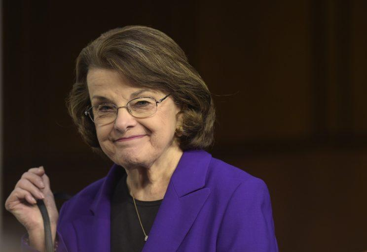 Senate Judiciary Committee's ranking member Sen. Dianne Feinstein, D-Calif. appears on Capitol Hill in Washington in this March 22, 2017, file photo. (Photo: Susan Walsh/AP)