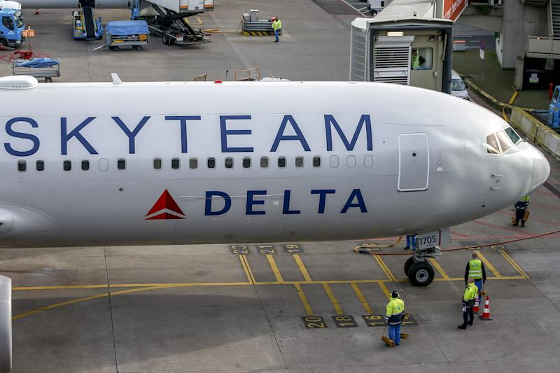 AMSTERDAM, 30-01-2020 ,Schiphol Airport Dutchnews, plane Skyteam Delta (Photo by Pro Shots/Sipa USA)