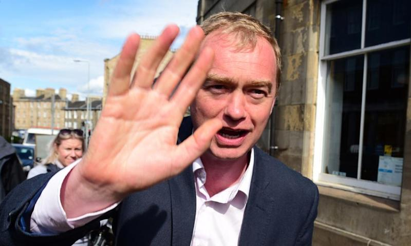 Tim Farron: high five (though more than five would be a reasonable target).