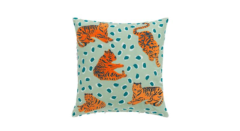 House by John Lewis Tiger Cushion
