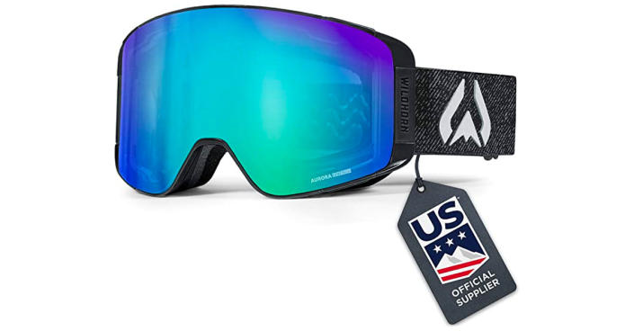 Wildhorn Outfitters Pipeline ski and snow goggles (Photo; Amazon)