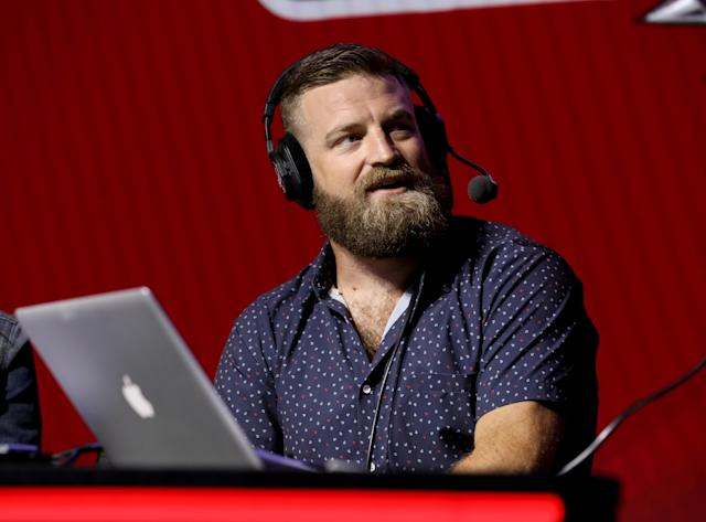 Ryan Fitzpatrick isn't ready to close the book on his 15-year NFL career. (Photo by Cindy Ord/Getty Images for SiriusXM )