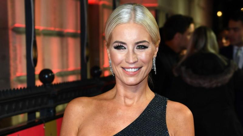 Denise Van Outen caused a major security blunder when she posted a photo of her celebrating NYE back in 2018 (Getty)