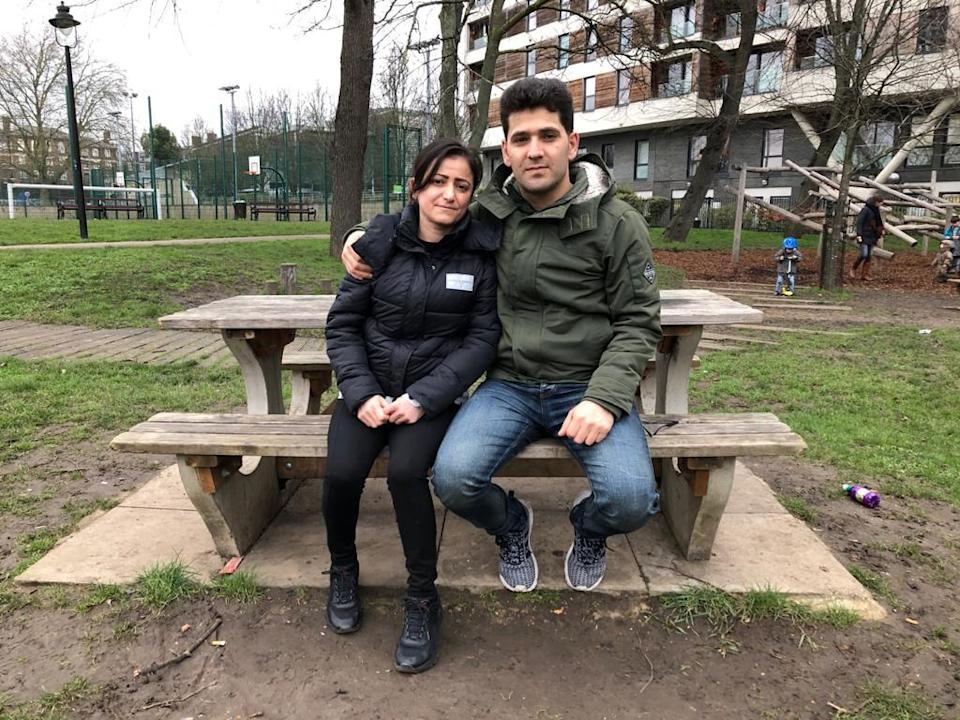 Rupak and husband Hajar crossed the Channel in September, a week after the tragedy, and are now living in asylum seeker accommodation in LondonMay Bulman