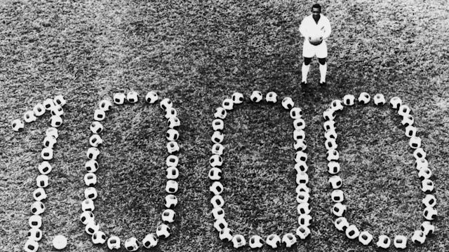On November 19, 1969, Brazilian superstar Pele scored the 1,000th goal of his career. Fifty years later, it remains a superhuman feat.