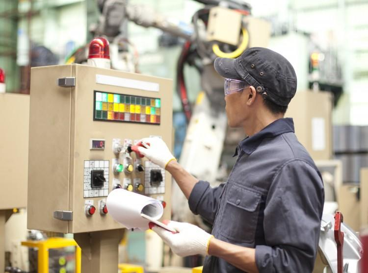 test, plant, control, panel, robot, engineering, engineer, worker, asian, power, checking, electrician, electricity, technician, tool, assembly, repairman, male, technology,