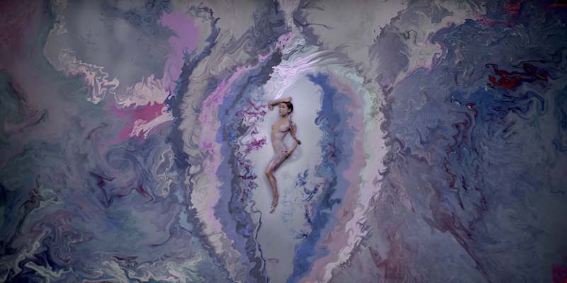 What It Was Like Body Painting A Naked Ariana Grande For Her