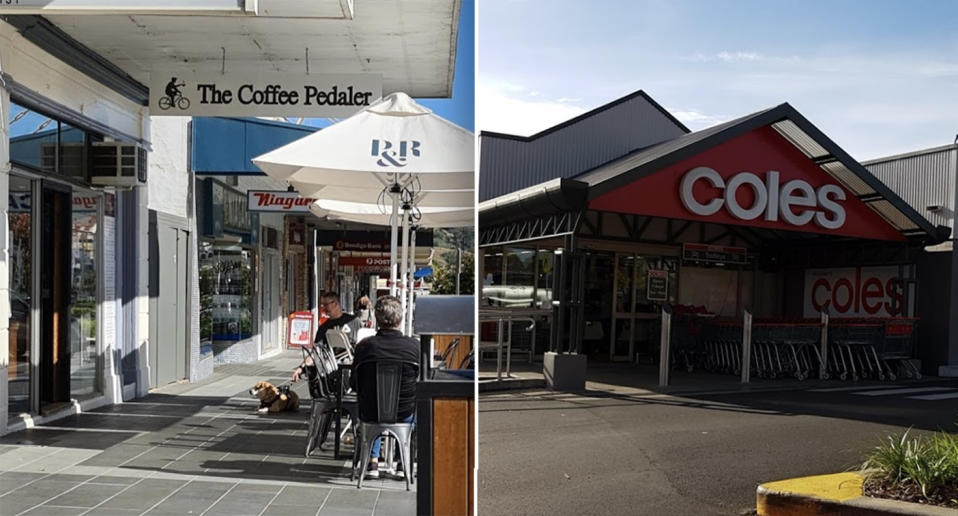The Coffee Pedaler in Gundagai and Coles Vincentia were added to the list of venues exposed to coronavirus.