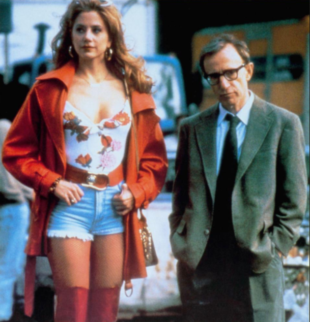 Mira starred in and won an Oscar for her performance alongside Woody Allen in Mighty Aphrodite in 1995, which was a Miramax production. Source: Miramax