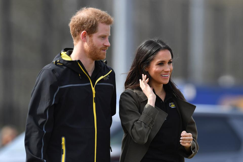 <p>There's just over a month to go until the royal wedding, but Prince Harry and Meghan Markle aren't slowing down just yet. </p>