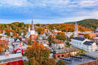 """<p><strong>The Drive:</strong> <a href=""""https://www.tripadvisor.com/Attraction_Review-g28966-d126606-Reviews-Highway_100-Vermont.html"""" rel=""""nofollow noopener"""" target=""""_blank"""" data-ylk=""""slk:Highway 100"""" class=""""link rapid-noclick-resp"""">Highway 100</a>, also known as """"Vermont's Main Street""""</p><p><strong>The Scene:</strong> Make this journey from <a href=""""https://www.tripadvisor.com/Tourism-g57473-Wilmington_Vermont-Vacations.html"""" rel=""""nofollow noopener"""" target=""""_blank"""" data-ylk=""""slk:Wilmington"""" class=""""link rapid-noclick-resp"""">Wilmington</a> to <a href=""""https://www.tripadvisor.com/Tourism-g57335-Newport_Northeast_Kingdom_Vermont-Vacations.html"""" rel=""""nofollow noopener"""" target=""""_blank"""" data-ylk=""""slk:Newport, Vermont"""" class=""""link rapid-noclick-resp"""">Newport, Vermont</a> in October for incredible views of the fall foliage surrounding charming small towns. And with plenty of farms, pretty churches, and main streets to visit, it's a fun trip for the spring and summer months, too. </p><p><strong>The Pit-Stop:</strong> Head to <a href=""""https://www.tripadvisor.com/Tourism-g57324-Montpelier_Vermont-Vacations.html"""" rel=""""nofollow noopener"""" target=""""_blank"""" data-ylk=""""slk:Montpelier's Main Street"""" class=""""link rapid-noclick-resp"""">Montpelier's Main Street</a> to check out the local shops and restaurants where you can pick up items from local artisans and fresh treats from nearby farms. </p>"""