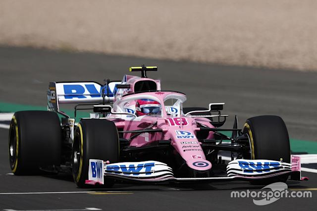 "Lance Stroll, Racing Point RP20 <span class=""copyright"">Racing Point</span>"