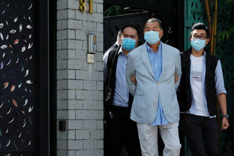 HK's Next Digital soars as activists rally support for arrested tycoon Jimmy Lai