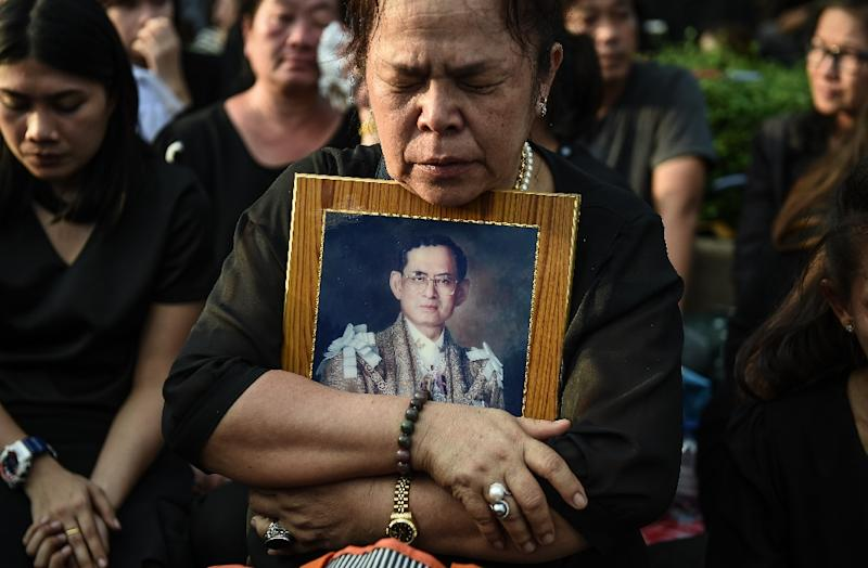 The death of Thai King Bhumibol Adulyadej plunged the country into intense mourning (AFP Photo/Lillian Suwanrumpha)