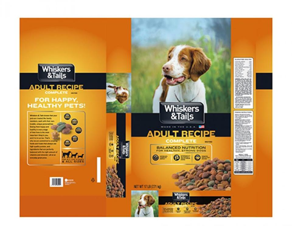 whiskers & tails dog food