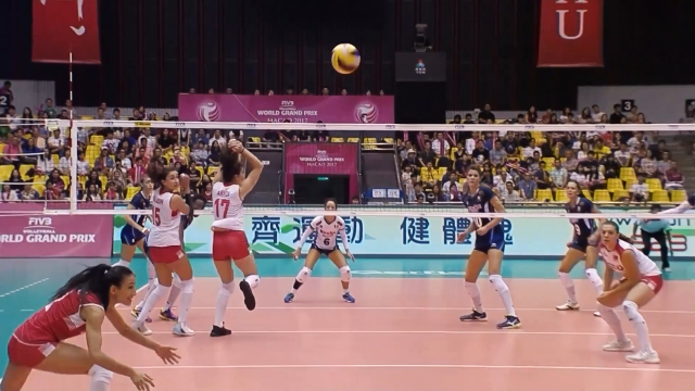 In a week of high quality volleyball one player stood out above the rest - Italy's Paola Egonu. The opposite spiker hammered in a whopping 56 spikes as her side won all three of their games in Macau.